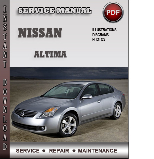 Nissan Altima Service Repair Manual Download Info border=
