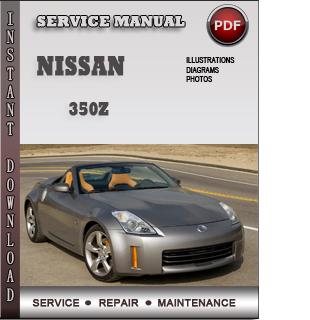 nissan 350z pdf