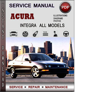 Acura Integra manual pdf