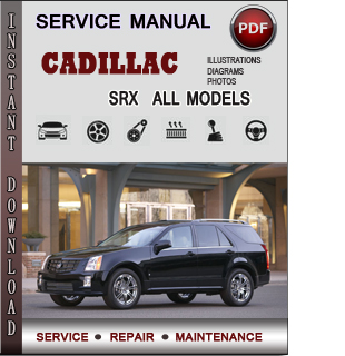 Cadillac SRX manual pdf
