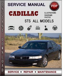 Cadillac STS manual pdf