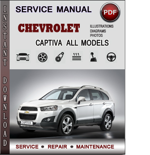Chevrolet Captiva manual pdf