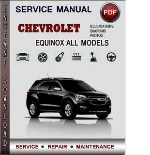 Chevrolet Equinox Manual Pdf