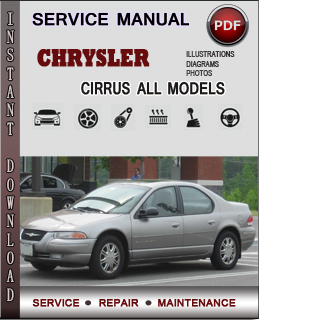 Chrysler Cirrus manual pdf