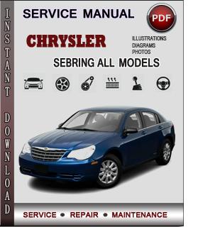 Chrysler Sebring manual pdf