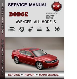 Dodge Avenger manual pdf