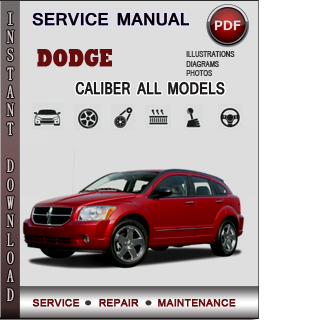 Dodge Caliber manual pdf