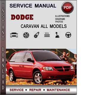 dodge caravan service repair manual 2001 2002 2003 2004. Black Bedroom Furniture Sets. Home Design Ideas