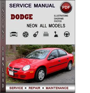 Dodge Neon manual pdf