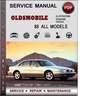 Oldsmobile 88 manual pdf