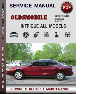 oldsmobile intrigue service repair manual download info