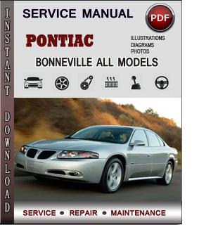 Pontiac Bonneville manual pdf