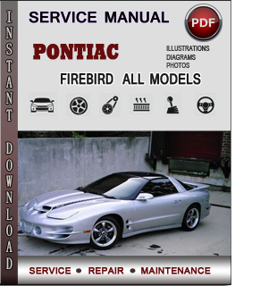 Pontiac Firebird  manual pdf