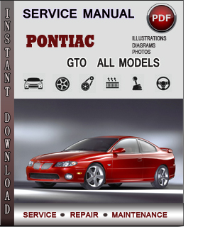Pontiac GTO manual pdf