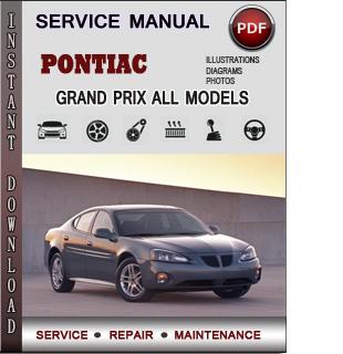 Pontiac Grand Prix manual pdf