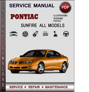 Pontiac Sunfire manual pdf