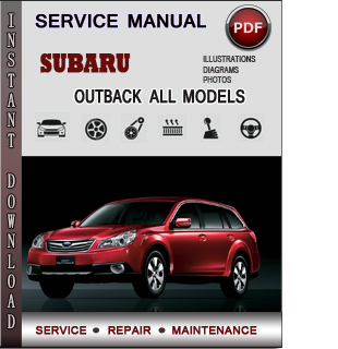 subaru outback service repair manual download info. Black Bedroom Furniture Sets. Home Design Ideas