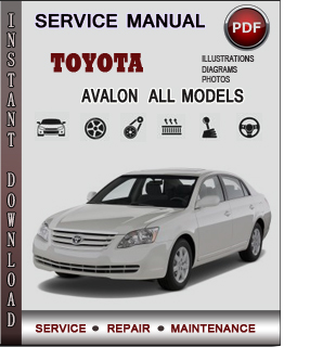 Toyota Avalon manual pdf