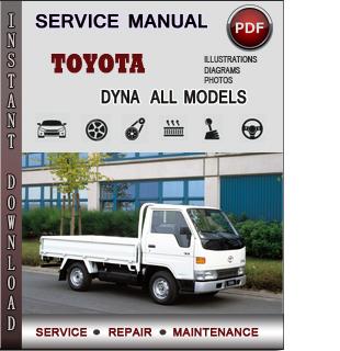 Toyota Dyna manual pdf
