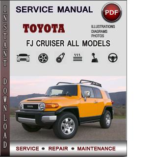 Toyota Fj Cruiser manual pdf