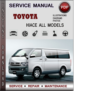 Toyota Hiace manual pdf
