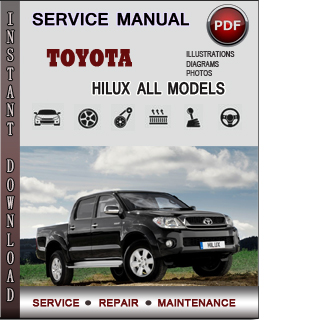 Toyota Hilux manual pdf