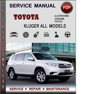 Toyota Kluger manual pdf