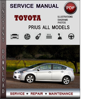 toyota prius service repair manual download info service manuals. Black Bedroom Furniture Sets. Home Design Ideas
