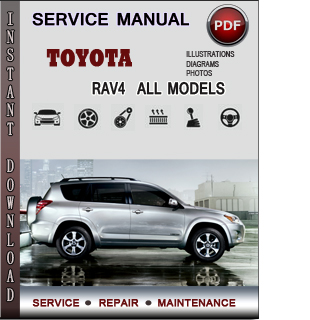 Toyota RAV4 Service Repair Manual Download | Info Service Manuals