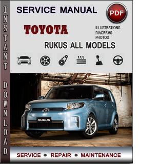 Toyota Rukus manual pdf