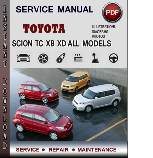 Toyota Scion manual pdf