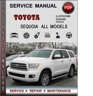 Toyota Sequoia manual pdf