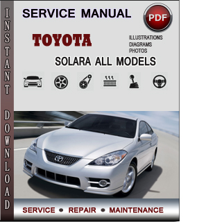 Toyota Solara manual pdf