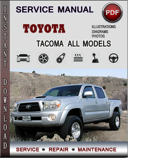 Toyota Tacoma manual pdf