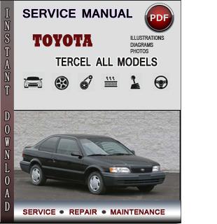 Toyota Tercel manual pdf