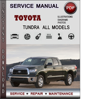 Toyota Tundra manual pdf