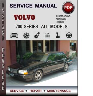 Volvo 700 SERIES manual pdf