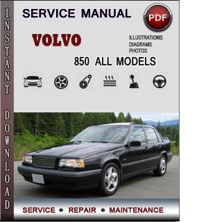Volvo 850 manual pdf
