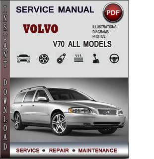 Volvo V70 manual pdf