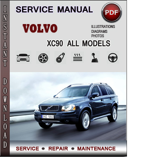 volvo xc90 service repair manual download info service. Black Bedroom Furniture Sets. Home Design Ideas