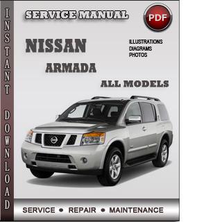 Nissan Armada Service Repair Manual Download Info Service Manuals