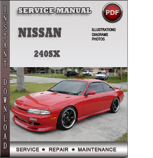 service repair manual nissan 240sx pdf
