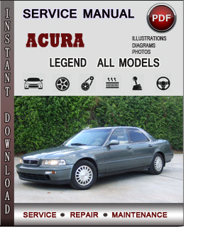 Acura Legend manual pdf