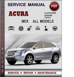 Acura MDX manual pdf
