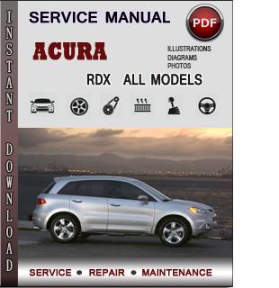Acura RDX manual pdf