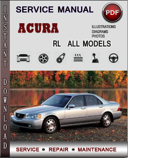 Acura RL manual pdf