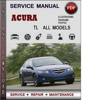 Acura TL manual pdf