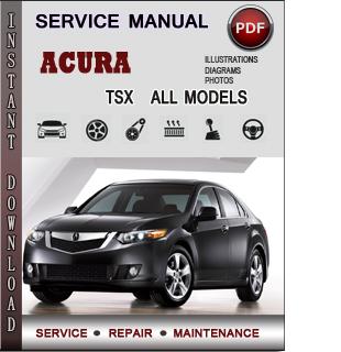 Acura TSX manual pdf