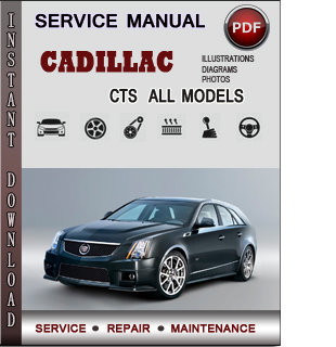 Cadillac cts Owners Manual