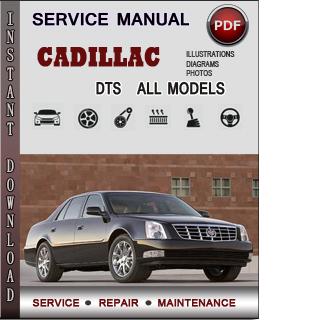 Cadillac DTS manual pdf